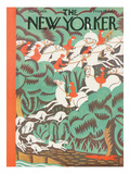 The New Yorker Cover - November 7, 1931 Premium Giclee Print by Margaret Schloeman
