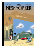 The New Yorker Cover - October 20, 2003 Regular Giclee Print by Ian Falconer