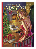 The New Yorker Cover - December 22, 1997 Regular Giclee Print by Owen Smith