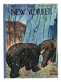The New Yorker Cover - December 6, 1947 Premium Giclee Print by Peter Arno