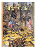 The New Yorker Cover - April 10, 1995 Regular Giclee Print by Edward Sorel