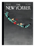 The New Yorker Cover - February 11, 2002 Premium Giclee Print by Ian Falconer