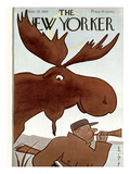 The New Yorker Cover - November 25, 1939 Premium Giclee Print by Rea Irvin