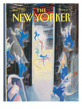 The New Yorker Cover - May 3, 1993 Premium Giclee Print by Jean-Jacques Semp&#233;
