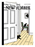 The New Yorker Cover - January 20, 2003 Regular Giclee Print by Jean Claude Floc'h