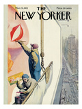 The New Yorker Cover - March 29, 1952 Premium Giclee Print by Arthur Getz