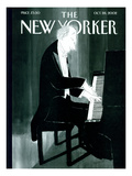 The New Yorker Cover - October 28, 2002 Regular Giclee Print by Jean-Jacques Sempé