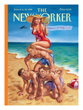 The New Yorker Cover - June 22, 1998 Regular Giclee Print by Owen Smith