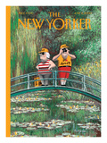 The New Yorker Cover - June 5, 2000 Regular Giclee Print by Ian Falconer