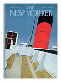 The New Yorker Cover - April 15, 1967 Regular Giclee Print by Charles E. Martin