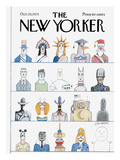 The New Yorker Cover - October 20, 1975 Regular Giclee Print by Saul Steinberg