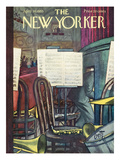 The New Yorker Cover - April 30, 1955 Regular Giclee Print by Arthur Getz