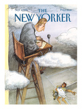 The New Yorker Cover - September 4, 1995 Premium Giclee Print by Edward Sorel