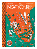 The New Yorker Cover - February 13, 1926 Premium Giclee Print by Ilonka Karasz