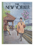 The New Yorker Cover - May 1, 1965 Premium Giclee Print by Charles Saxon