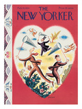 The New Yorker Cover - February 10, 1934 Regular Giclee Print by Harry Brown