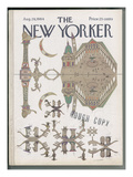 The New Yorker Cover - August 29, 1964 Regular Giclee Print by Saul Steinberg