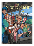 The New Yorker Cover - July 21, 1997 Regular Giclee Print by R. Sikoryak