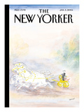 The New Yorker Cover - January 5, 2004 Regular Giclee Print by Jean-Jacques Sempé