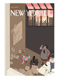 Natural Selection - The New Yorker Cover, February 15, 2010 Regular Giclee Print by Chris Ware