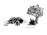 """Buy low, sell high!"" - New Yorker Cartoon Premium Giclee Print by William Hamilton"