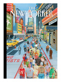 The New Yorker Cover - October 3, 2011 Premium Giclee Print by Bruce McCall