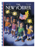 The New Yorker Cover - July 7, 1997 Regular Giclee Print by R. Sikoryak