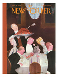 The New Yorker Cover - November 26, 1938 Regular Giclee Print by William Cotton