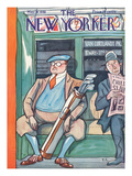 The New Yorker Cover - May 31, 1930 Premium Giclee Print by Peter Arno