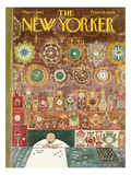The New Yorker Cover - March 11, 1961 Premium Giclee Print by Anatol Kovarsky