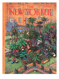 The New Yorker Cover - August 5, 1991 Regular Giclee Print by John O'brien