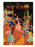 The New Yorker Cover - September 20, 1930 Premium Giclee Print by Theodore G. Haupt