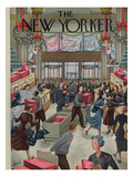 The New Yorker Cover - December 10, 1949 Premium Giclee Print by Constantin Alajalov