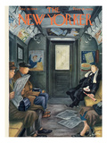 The New Yorker Cover - December 30, 1944 Premium Giclee Print by Constantin Alajalov