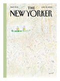 The New Yorker Cover - June 30, 2003 Regular Giclee Print by Jean-Jacques Sempé