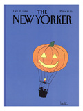The New Yorker Cover - October 29, 1984 Regular Giclee Print by Arnie Levin