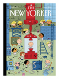 Ring out the Old, Ring In the New - The New Yorker Cover, January 4, 2010 Regular Giclee Print by Ivan Brunetti