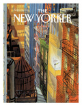 The New Yorker Cover - September 20, 1993 Premium Giclee Print by Jean-Jacques Sempé