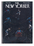 The New Yorker Cover - February 8, 1958 Premium Giclee Print by Garrett Price
