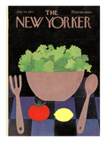 The New Yorker Cover - July 24, 1971 Regular Giclee Print by Charles E. Martin