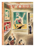The New Yorker Cover - January 9, 1937 Premium Giclee Print by Richard Taylor