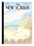 The New Yorker Cover - June 4, 2001 Regular Giclee Print by Jean-Jacques Sempé