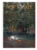 The New Yorker Cover - August 24, 1957 Premium Giclee Print by Edna Eicke