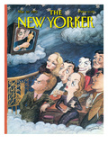 The New Yorker Cover - March 29, 1993 Regular Giclee Print by Edward Sorel