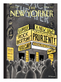 The New Yorker Cover - March 5, 2001 Regular Giclee Print by Ian Falconer