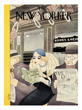 The New Yorker Cover - March 10, 1934 Premium Giclee Print by Abner Dean