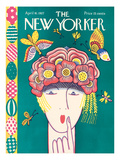 The New Yorker Cover - April 16, 1927 Premium Giclee Print by Ilonka Karasz