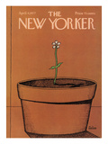 The New Yorker Cover - April 4, 1977 Premium Giclee Print by Robert Tallon