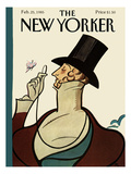 The New Yorker Cover - February 25, 1985 Premium Giclee Print by Rea Irvin