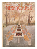 The New Yorker Cover - September 29, 1975 Regular Giclee Print by Charles E. Martin